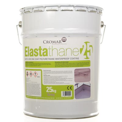 Cromar Elastathane 25 High Performance Polyurethane Roof Coating 25Kg (17m²)