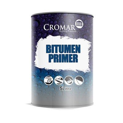 Cromar Bitumen Primer Black 5L