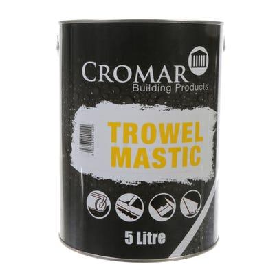 Cromar Bituminous Trowel Mastic Black 5L