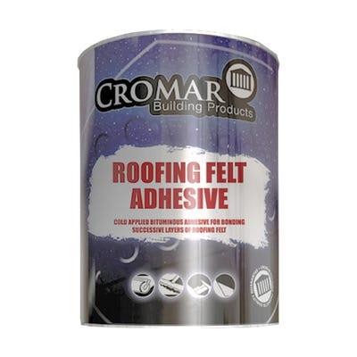 Cromar Bituminous Roofing Felt Adhesive 25L