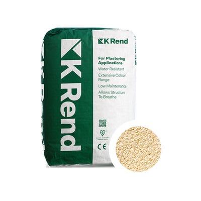 K Rend Silicone FT Textured York Render Coat 25Kg Pallet of 40