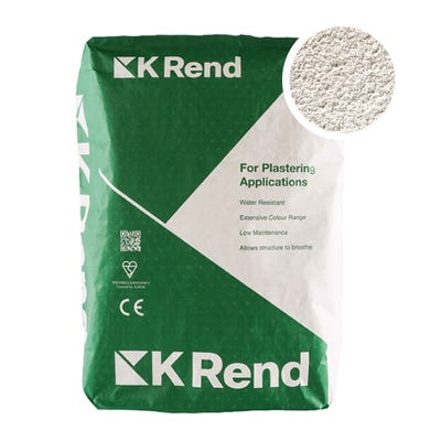 K Rend Silicone FT Textured Champagne Render Coat 25Kg Pallet of 40