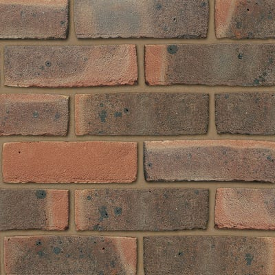 Ibstock Bexhill Dark Red Multi Stock Facing Brick Pack of 500