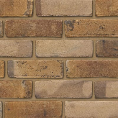Ibstock Funton Old Chelsea Yellow Stock Facing Brick Pack of 500