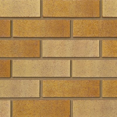 Ibstock Tradesman Buff Multi Wirecut Facing Brick Pack of 400
