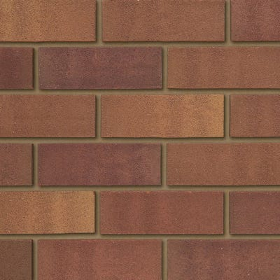 Ibstock Tradesman 65mm Heather Mixture Wirecut Facing Brick Pack of 400