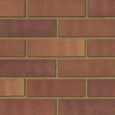 Ibstock Tradesman 73mm Heather Mixture Wirecut Facing Brick Pack of 336