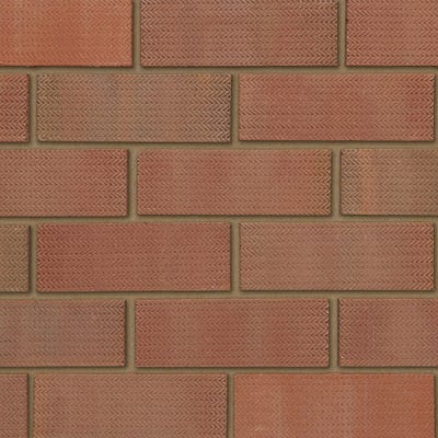 Ibstock Tradesman 73mm Rustic Blend Wirecut Facing Brick Pack of 336