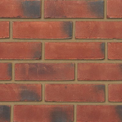 Ibstock Leicester Weathered Red Stock Facing Brick Pack of 500