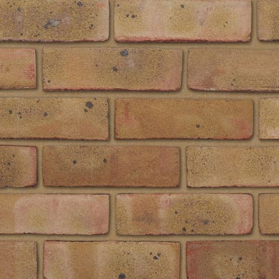 Ibstock Arundel Yellow Multi Stock Facing Brick Pack of 475