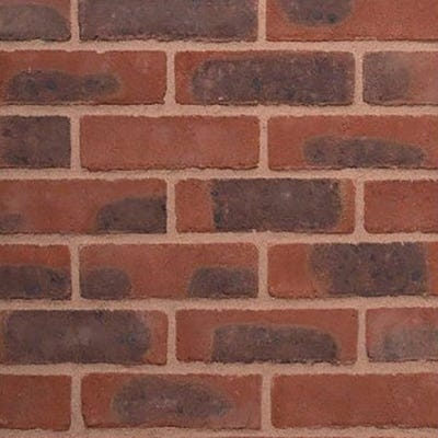 Wienerberger Rudgwick Red Multi Stock Facing Brick Pack of 500