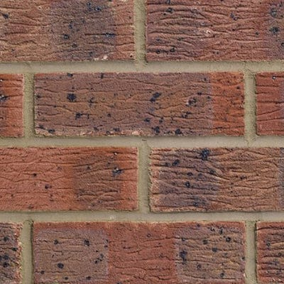 Forterra LBC Claydon Red Multi Pressed Facing Brick Pack of 390