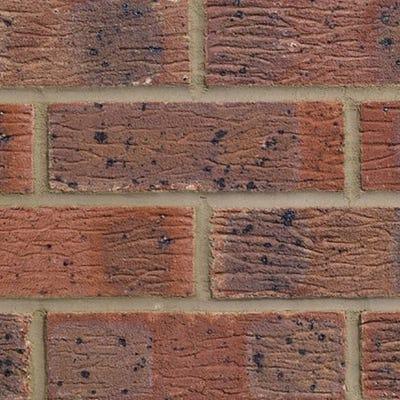 Forterra LBC Claydon Red Multi Pressed Facing Brick Pack of 390
