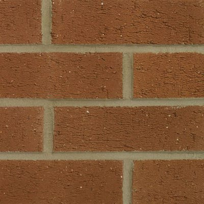 Forterra Nottingham Red Rustic Pressed Facing Brick Pack of 495