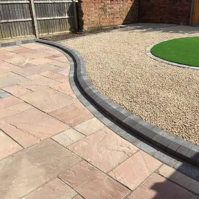 EM Calibrated Riven Natural Sandstone Paving Modac Patio Pack (15.3m²)