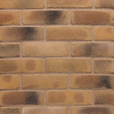 Wienerberger Smoked Yellow Gilt Stock Facing Brick Pack of 500
