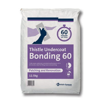 British Gypsum Thistle Undercoat Bonding 60 12.5Kg