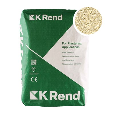 K Rend Silicone K1 York Scraped Render Coat 25Kg Pallet of 40