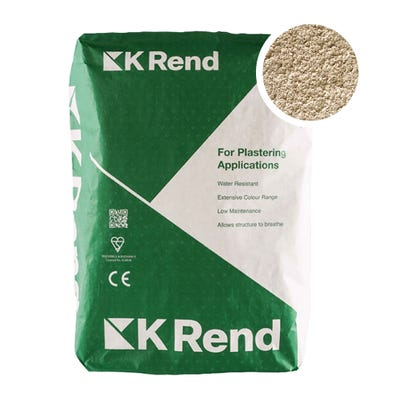 K Rend Silicone K1 Fintry Scraped Render Coat 25Kg Pallet of 40