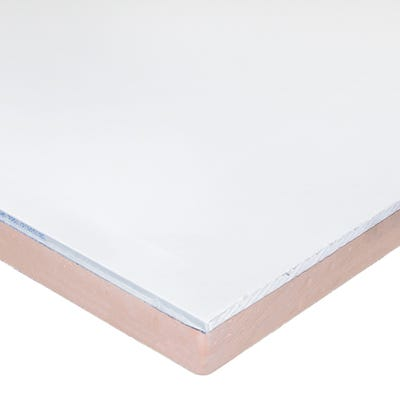 57.5mm Kingspan Kooltherm K118 Insulated Plasterboard 2400mm x 1200mm (8' x 4')