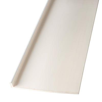 9mm x 200mm Primacell uPVC Fascia Board Single Leg White 5000mm White