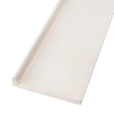 16mm x 150mm Primacell uPVC Fascia Board Single Leg 5000mm White