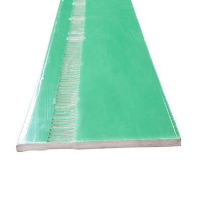 9mm x 175mm Primacell uPVC Soffit Board Vented Single Round Edge 5000mm White