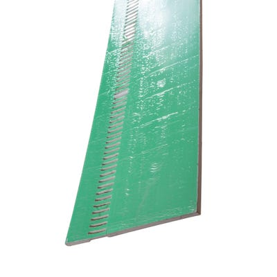 9mm x 200mm Primacell uPVC Soffit Board Vented Single Round Edge 5000mm White