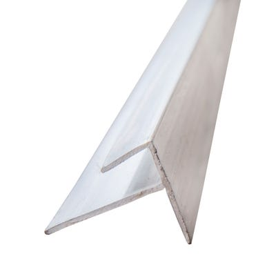Primacell uPVC Starter Trim For Shiplap Cladding 5000mm White
