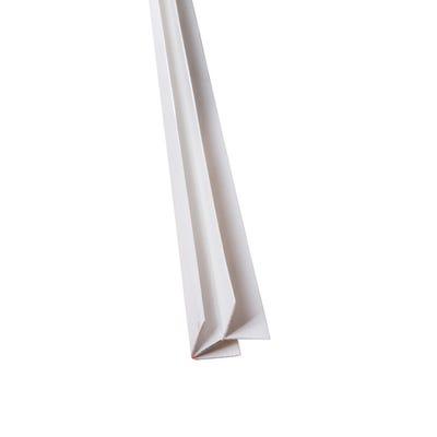 Primacell uPVC External Corner For Shiplap Cladding 5000mm White
