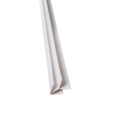 Primacell uPVC External Corner For Shiplap Cladding 5000mm White