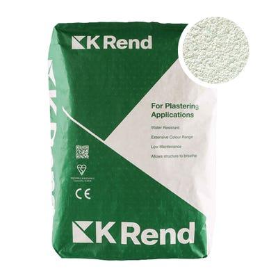 K Rend Silicone K1 Green Scraped Render Coat 25Kg Pallet of 40