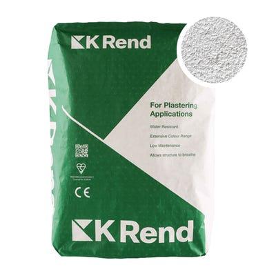 K Rend Silicone K1 Powder Blue Scraped Render Coat 25Kg Pallet of 40