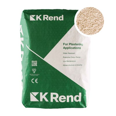 K Rend Silicone K1 Salmon Pink Scraped Render Coat 25Kg Pallet of 40