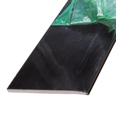9mm x 175mm Primacell uPVC Soffit Board Single Round Edge 5000mm Black
