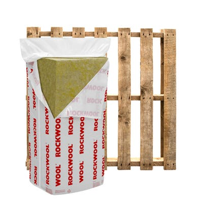 100mm Rockwool RWA45 1200mm x 600mm Pallet of 20 (57.6m²)