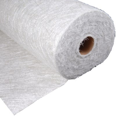 1000mm x 130m Cromar Pro GRP Flexiglass CSM Glass Fibre Matting Roll 225GSM 33Kg