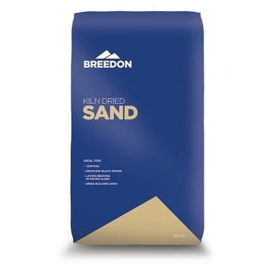 Breedon Kiln Dried Sand 20Kg
