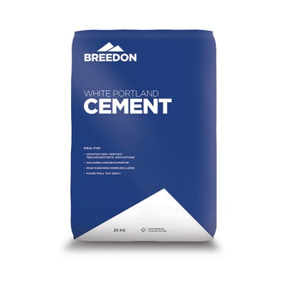 Breedon White Portland Cement 25Kg