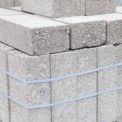 100mm Aero Block Dense Concrete Block 7.3N 215mm x 440mm