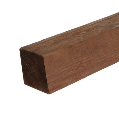 3'' x 3'' x 8' Brown Treated Timber Fence Post