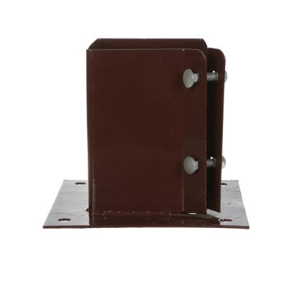 100mm x 100mm Bolt Down Fence Post Support System 2