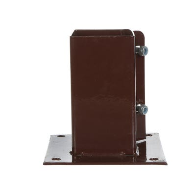 75mm x 75mm Bolt Down Fence Post Support System 2