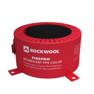 Rockwool 110mm Fire Rated Pipe Collar