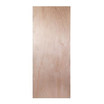 54mm Plywood FD60 Fire Door Blank 2135mm x 915mm (7' x 3')