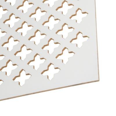 MDF White Gotico Radiator Panel 1830mm x 600mm