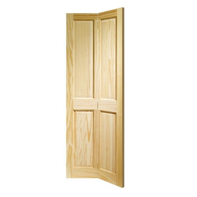 XL Joinery Internal Clear Pine Victorian 4 Panel Bi-Fold Door