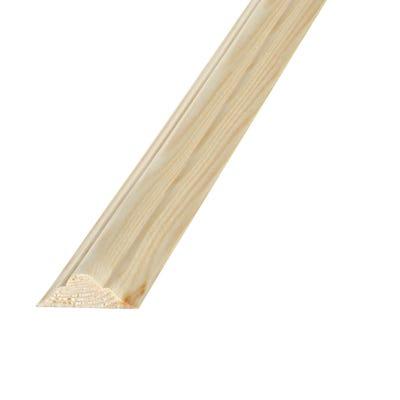 21mm x 8mm Richard Burbidge Pine Double Astragal Moulding 2400mm FB369