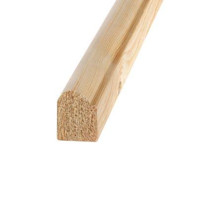 20mm x 15mm Richard Burbidge Pine Staff Bead 2400mm FB362