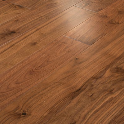 18 x 191mm Walnut Oiled T&G Engineered Wood Flooring